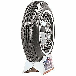 Coker Tire 51760 Coker Bfgoodrich Silvertown Whitewall Bias Ply Tire