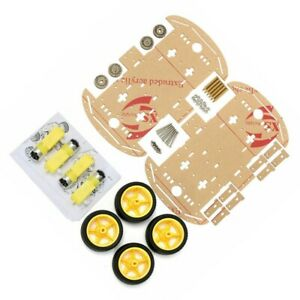 Kits Robot Kit 4wd Accessary Car Chassis With Magneto Speed Encoder 1 Set
