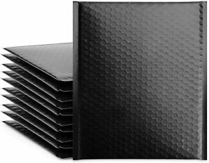 Large Black Bubble Poly Mailers 2 8 5 x12 Padded Envelope 1 5 10 25 Pack