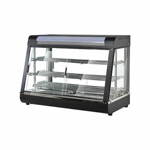 3 tier 1800w Commercial Countertop Food Pizza Warmer Display Cabinet Case