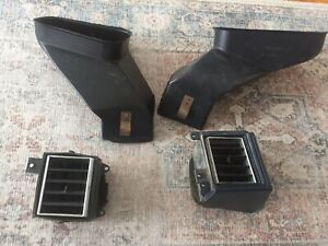 1970 81 Camaro Z28 Lower Dash Vent Duct Bezels Heater Gm Non A c