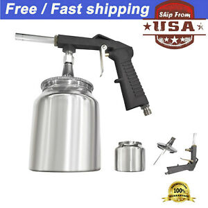 Professional Undercoat Spray Gun Suction Cup Auto Undercoating Car Bed Liner Us