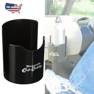Magnetic Cup Holder Car Caddy Black Truck Auto Vehicle Coffee Mug Drink Storage