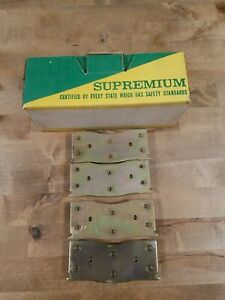 Supremium 2 Wheel Set Brake Pad Sets Front New For Ford Mustang Cougar