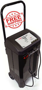 200amp Automotive Battery Charger Wheeled Dead Portable Jump Start Heavy Duty