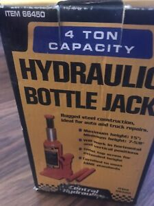 Central Hydraulics 4 Ton Ton Bottle Jack