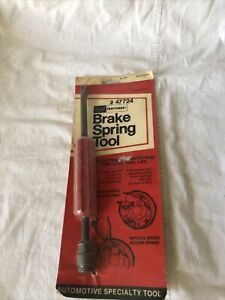 Vintage Craftsman Brake Spring Tool 47724 Usa Made