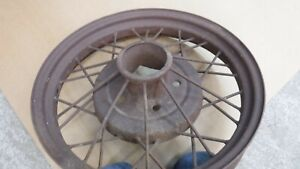 Model A Ford 19 Wire Wheel Mt 6492
