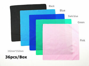 Dental Endodontic Rubber Dam Sheets Latex For Adult Clamps Punches Medium 6x6