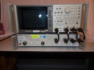 Hp 8753c Network Analyzer 300khz 6ghz Opts 2 6 And10 Hp85047a S param Test Set
