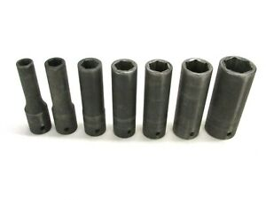 Mac Tools Deep Impact Socket Lot 1 2 Drive Metric 10 23mm