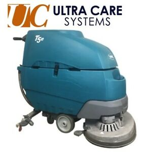 Fully Refurbished Tennant T5e 32 Floor Scrubber 665 3 Hours Free Shipping