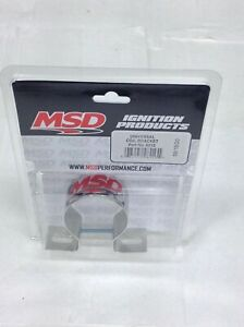 Msd 8213 Msd Ignition Universal Chrome Coil Mounting Bracket canister Coil Moun