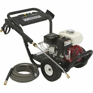 Northstar Gas Cold Water Pressure Washer 3300 Psi 2 5 Gpm Honda Engine