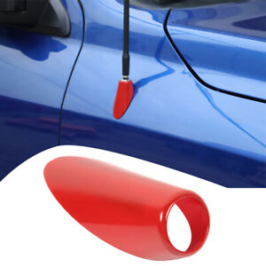 Car Antenna Base Moulding Cover Trim Accessories For Dodge Ram 2010 2017 Red
