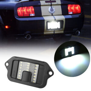 For Ford Mustang 2005 2006 2007 2008 2009 18 Smd Led License Plate Light Lamp