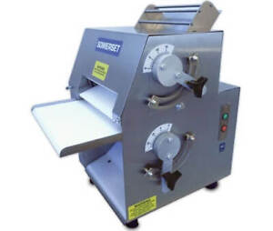 Stainless Steel Dough Rollers Double Pass Front Operated From Somerset