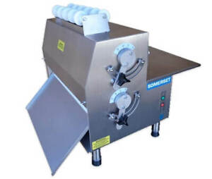 Stainless Steel Dough Rollers Double Pass Side Operated From Somerset