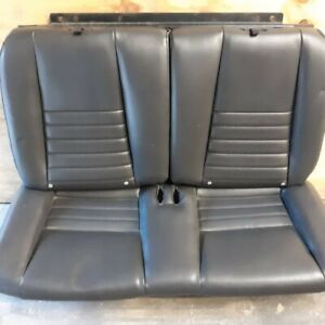 1996 2004 Mustang Convertible Rear Mustang Leather Seat Oem Ford 99 00 01 02 03