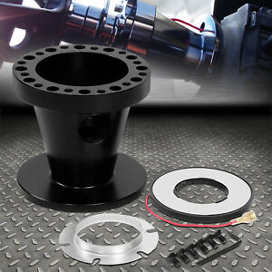 For 92 97 Ford F150 F250 F350 Ranger Black Steering Wheel Hub Adapter Boss Kit