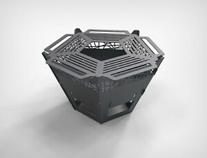 Pentagon Fire Pit V1 Dxf Files For Plasma Laser Water Cutting Or Cnc Diy Grill