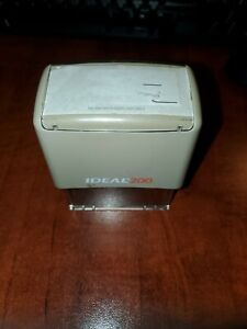 Ideal 200 Custom Self Inking Rubber Stamp