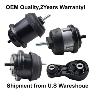 Hydraulic Engine trans Mounts 4pcs Fit For 2009 2017 Chevrolet Traverse Gmc