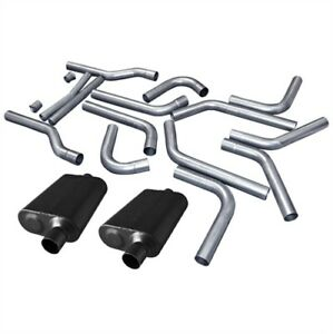 Flowmaster 815935k U fit Dual Exhaust Pipe Kit 2 25 Tubing Universal 16 piece Se