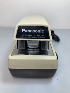 Vintage Panasonic Commercial Electric Stapler As 300 Tested Works Great
