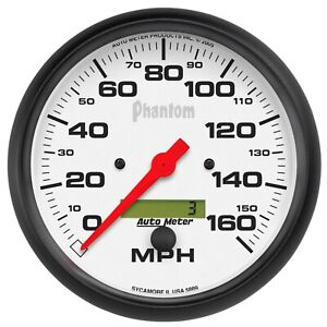 Autometer 5889 Phantom In dash Electric Speedometer