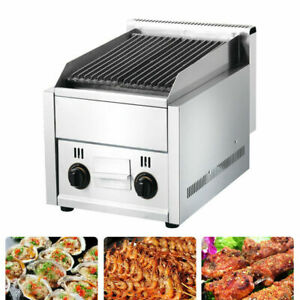 Hot Commercial Gas Grill Bbq Equipment Restaurant Heavy Duty Char Broiler Grill
