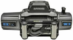 Superwinch Sx10000 12vdc Winch 10000lbs Single Line Pull 85 Steel Cable 5 5 Hp