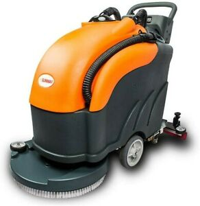 22 Battery Powered Automatic Floor Scrubber Dryer With A Complete Set Of Parts