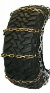Square Alloy Highway 305 70 16 Truck Tire Chains As2228cam