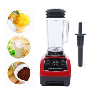 1500w 2l 2hp Heavy Duty Commercial Grade Blender Mixer For Juicer Food Fruit Ice