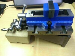 Lathe Vertical Milling Slide 4 X 5 Fixed Base 2 Self Centering Vice