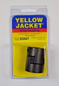 Yellow Jacket Ritchie Engineering 93047 Coupler Vacuum Pump For 1 2 Shafts