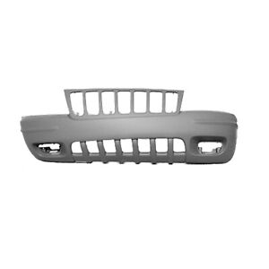 Fits 1999 2000 Jeep Grand Cherokee Front Bumper Cover 101 01488c