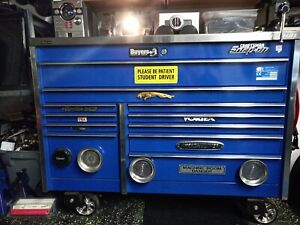 Snap on Tool Box With Tools Very Clean Well Maintained