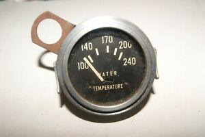 Stewart Warner Vintage Gauge 2 1 16 Electric 12 Volt Water Temperature Sw 15