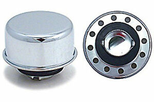 Chrome Oil Breather Cap Valve Cover Twist On In New Fits Aluminum Covers A25