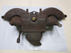 Gpw Willys Mb Jeep Intake Manifold A1163 And Exhaust Manifold