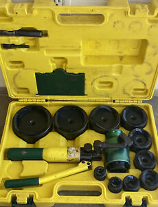 L h Dottie Hydraulic Knock Out Set Up To 4 Dies