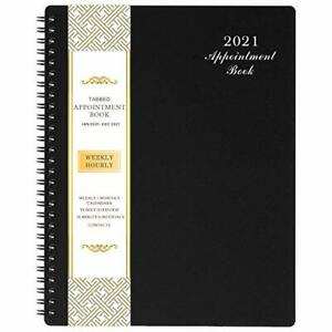 8 x10 Planner Agenda Weekly hourly Appointment Book July 2021 June 2022