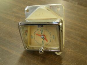Oem Ford 1955 Mercury Dash Clock Monterey Montclair Gauge Nos