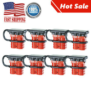 8pc Battery Quick Connector Disconnect Wire Harness Motor Recovery Winch Trailer