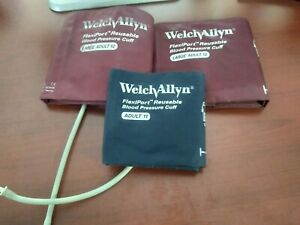 Welch Allyn Blood Pressure Cuff Adult 11 And Adult 12 Lot Of 3 Item 354789 n1