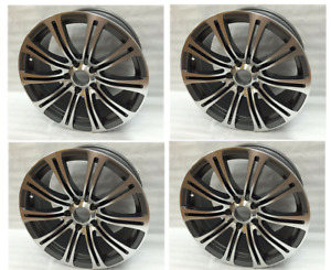 4pc 18 Gunmetal Wheels Rims Fit Bmw 128i 135i