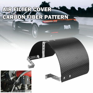 Stainless Steel Heat Shield Cover For 2 5 3 5 Cone Cold Air Intake Filter