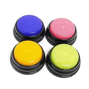 Recordable Answer Buzzers Recording Voice And Talking Button With Multicolor